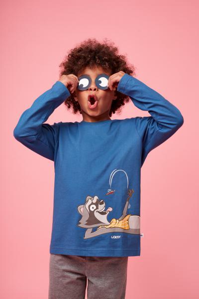 Woody Wasbeer Pyjama Heren S-XXL