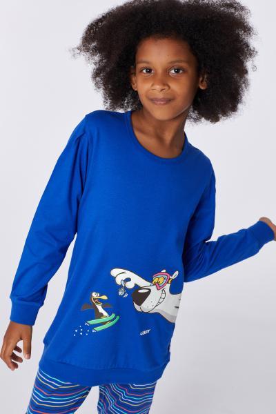 Woody Ijsbeer Pyjama meisjes katoen