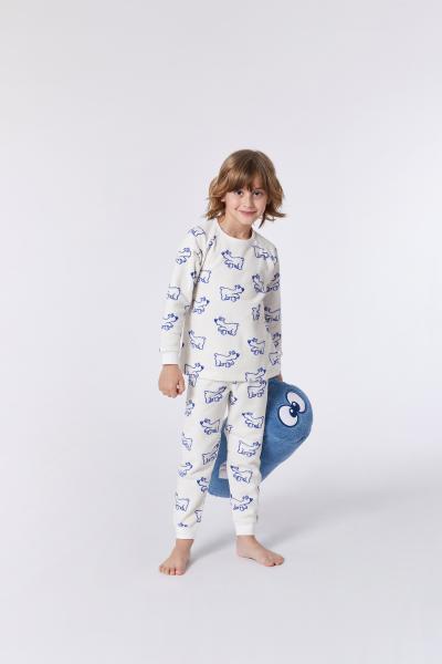 Woody Ijsbeer Pyjama unisex Terry