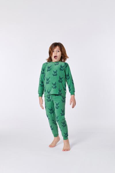 Woody Scottisch Highlander Pyjama unisex Terry