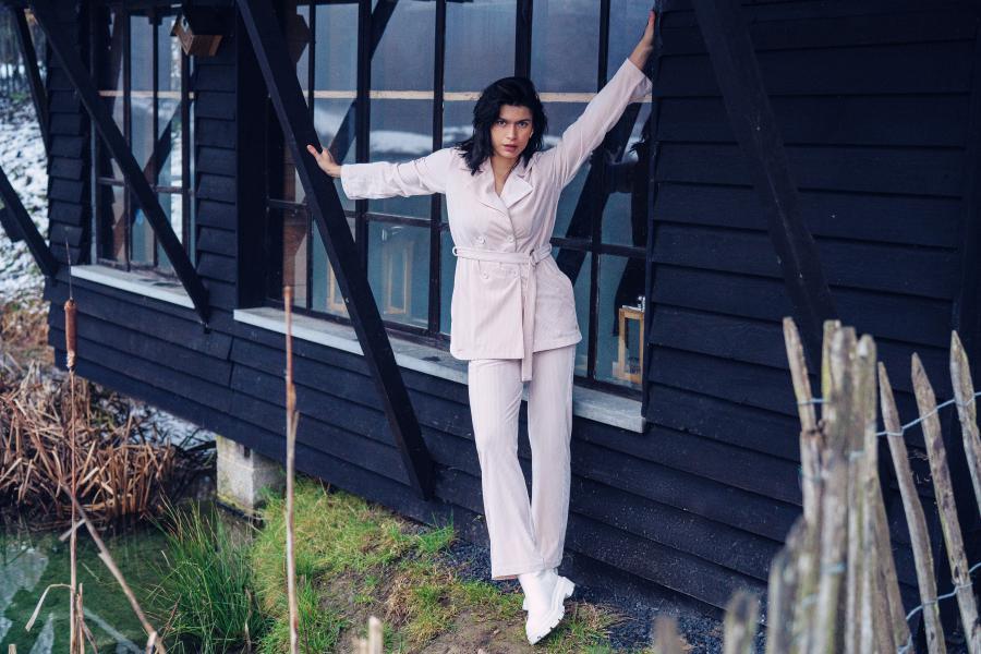 Lords and Lilies Velours ultrasoft jasje+broek