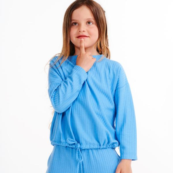 Lords and Lilies Marina Blue Pyjama-set meisjes