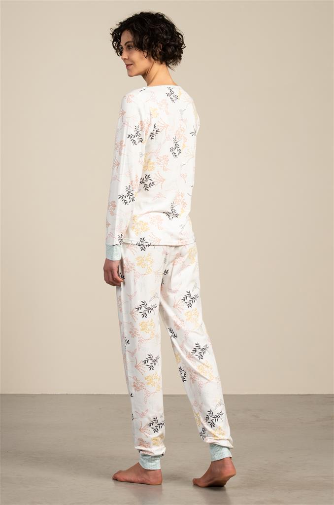 Eskimo Felicia Pyjama dames met knoopjes S tot XXL