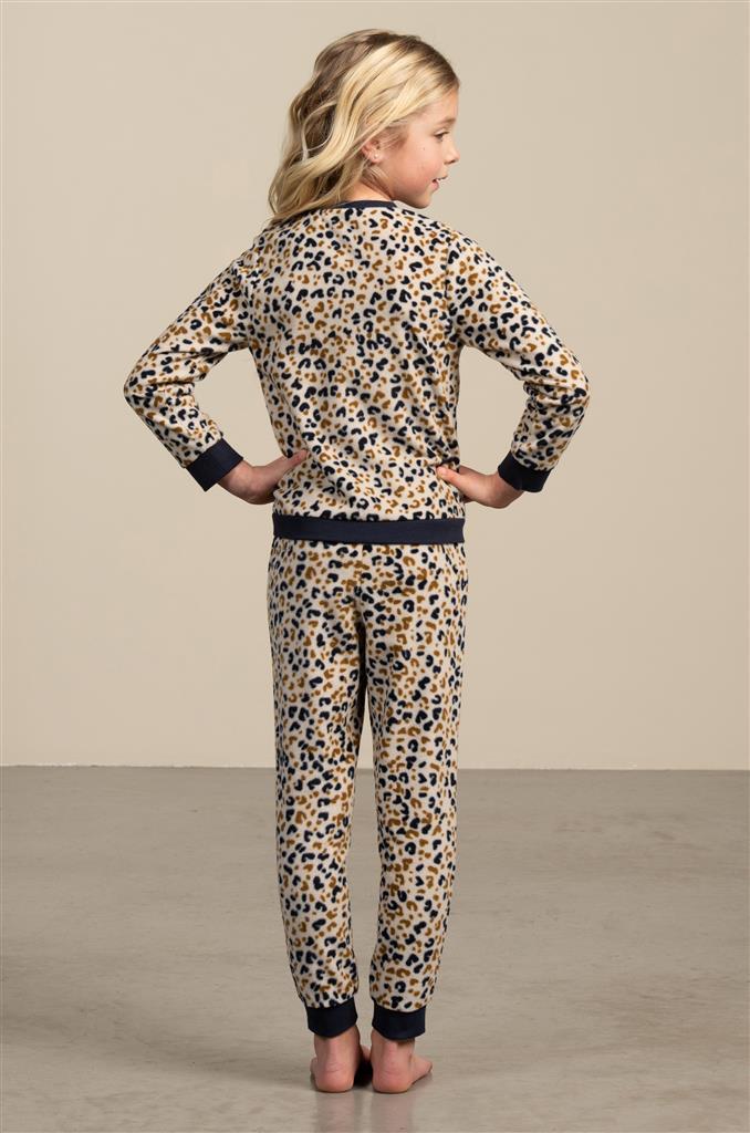 Eskimo Flore Pyjama meisjes fleece 2 tot 8 jaar