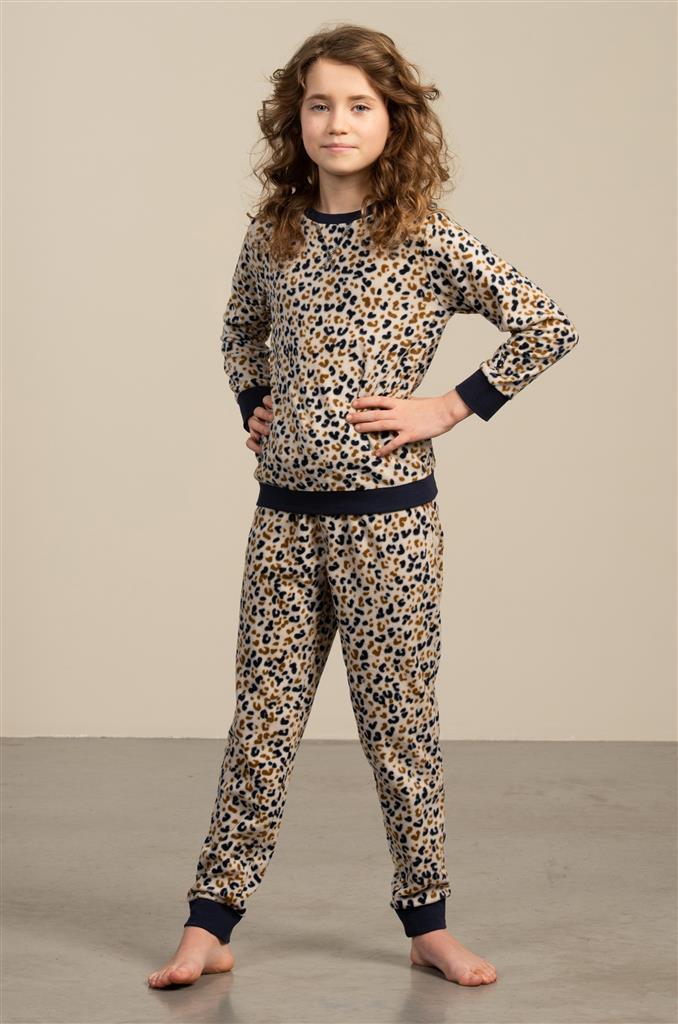 Eskimo Flore Pyjama meisjes fleece 10 tot 16 jaar