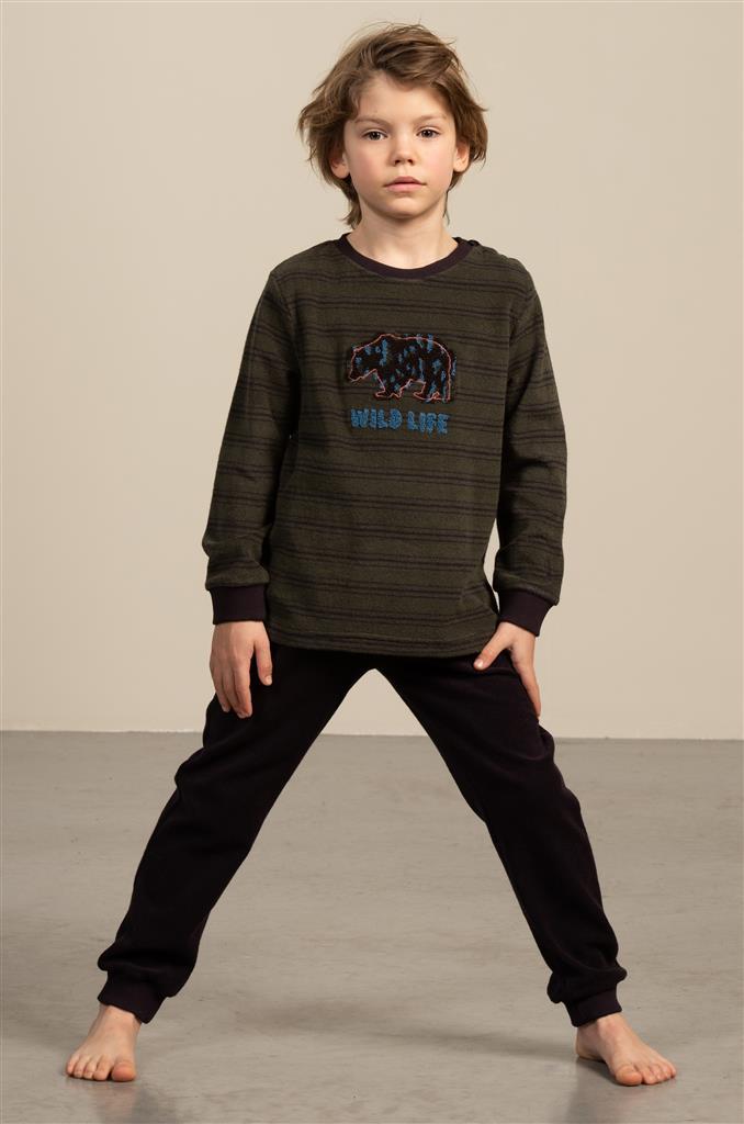 Eskimo Phil Pyjama jongens badstof 2 tot 8 jaar