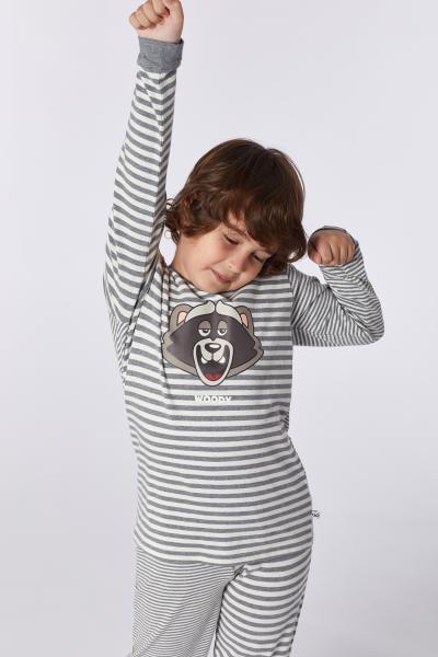 Woody Wasbeer Pyjama jongens