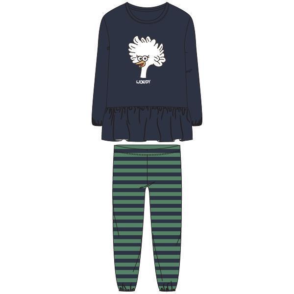 Woody Kip Pyjama dames velours