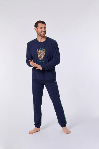 Woody Scottisch Highlander Pyjama heren