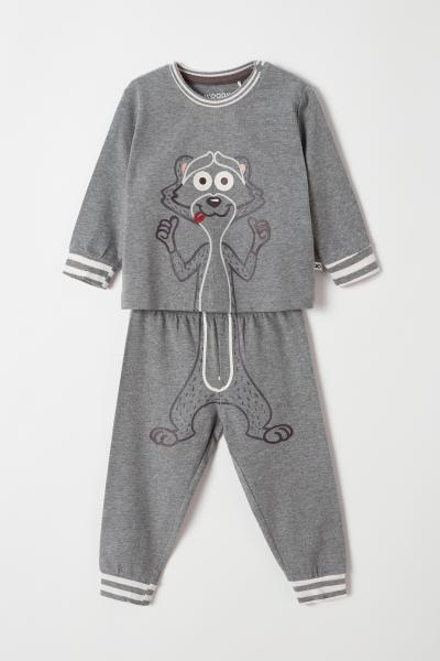 Woody Wasbeer Pyjama Baby
