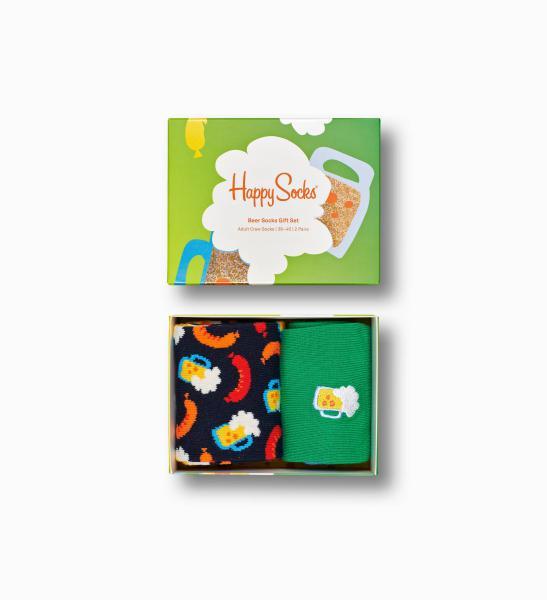 Happy Socks Beer Socks Giftbox 2 paar 36-40