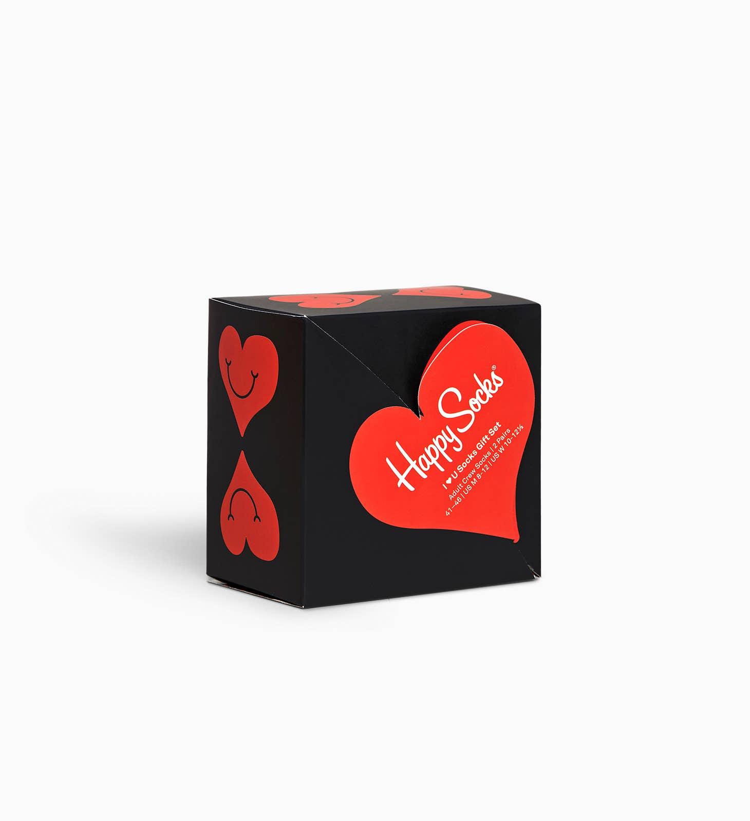 Happy Socks Valentine Giftbox 2 paar 36-40