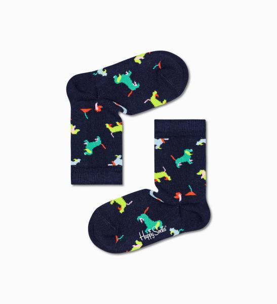 Happy Socks Kids Puppy Love 1 paar kousen