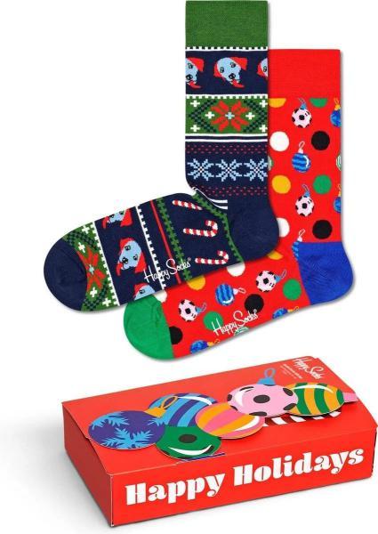 Happy Socks Baubles Giftbox 2 paar 36-40