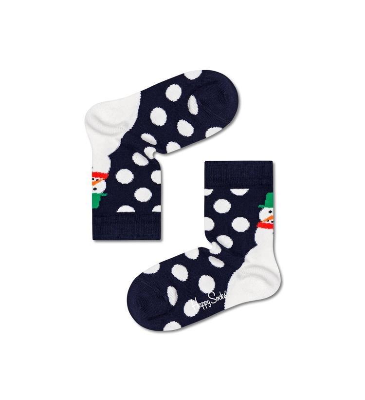 Happy Socks Kids Jumbo Snowman 1 paar kousen