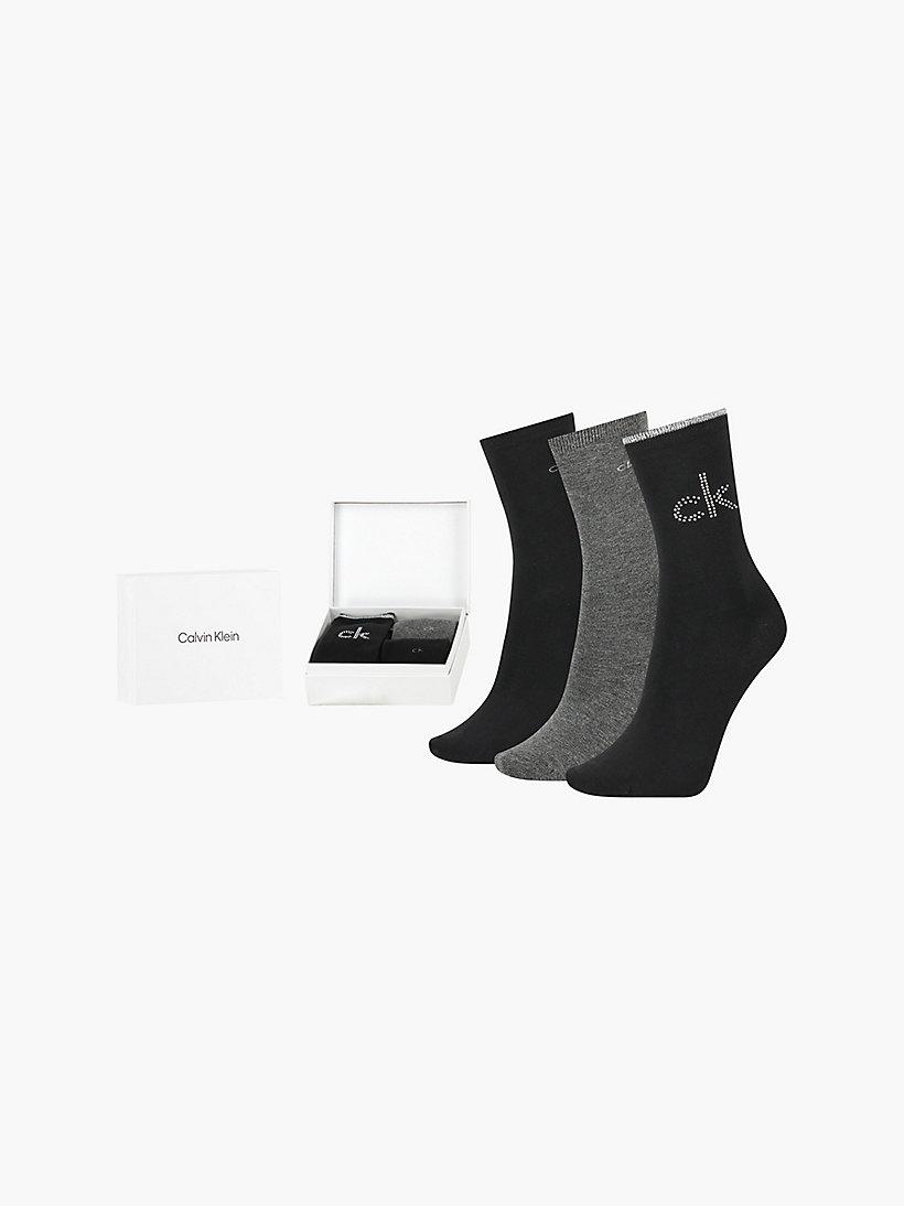 Calvin Klein Giftbox 3 paar kousen dames