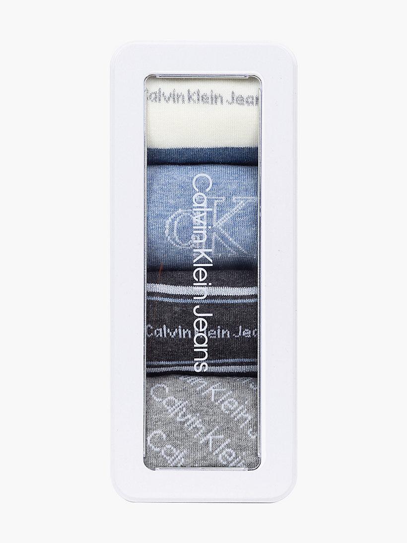 Calvin Klein Giftbox 4 paar kousen dames